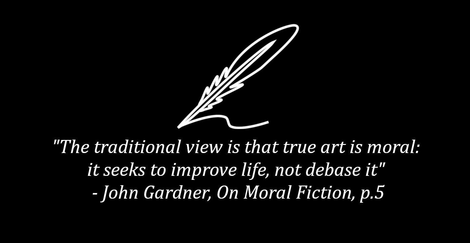 Warner House Press: Moral Fiction Banner